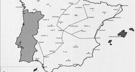Red espana telegrafo optico